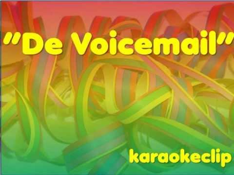 Spik en span - De Voicemail (karaoke clip)
