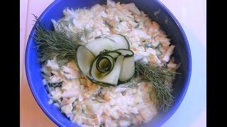 Быстро!! Вкусно!! Салат из КАПУСТЫ!!