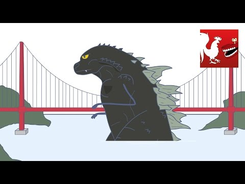 Godzilla vs the Human Bugs – Rooster Teeth Animated Adventures 4K