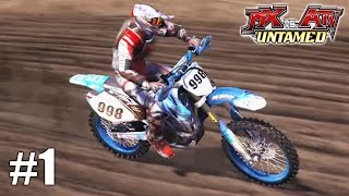 MX vs. ATV Untamed  - Xbox 360 / Ps3 Gameplay Playthrough X- Cross Tournament PART 1