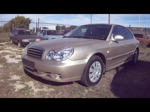 2004 Hyundai Sonata. Start Up, Engine, and In Depth Tour.