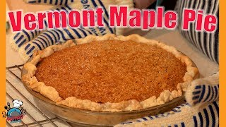 Vermont Maple Pie || Nana's Cookery