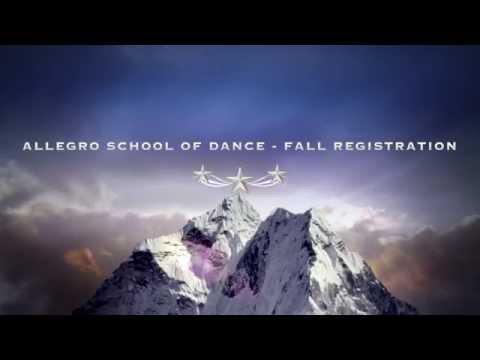 2015 Fall Registration - Allegro School of Dance