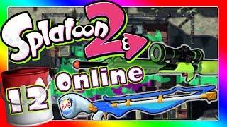 Ich mit der Sniper :O DLC-Waffe Sepiator α & Ziel-Konzentrator am Start! 🎨 SPLATOON 2 ONLINE Part 12