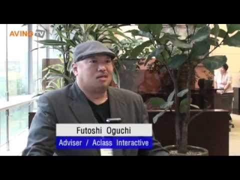 [KOBA 2012 video] Buyer interview with Futoshi Oguchi, Adviser of Aclass Interactive