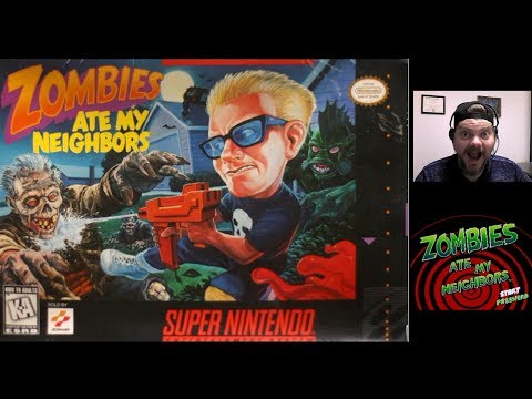 Zombies Ate My Neighbors - SNES | VGHI Play 'n' Chat Live Stream
