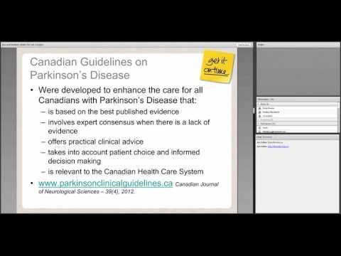 Webinar for Health Care Professionals - Responsive Behaviours in Parkinson's HD