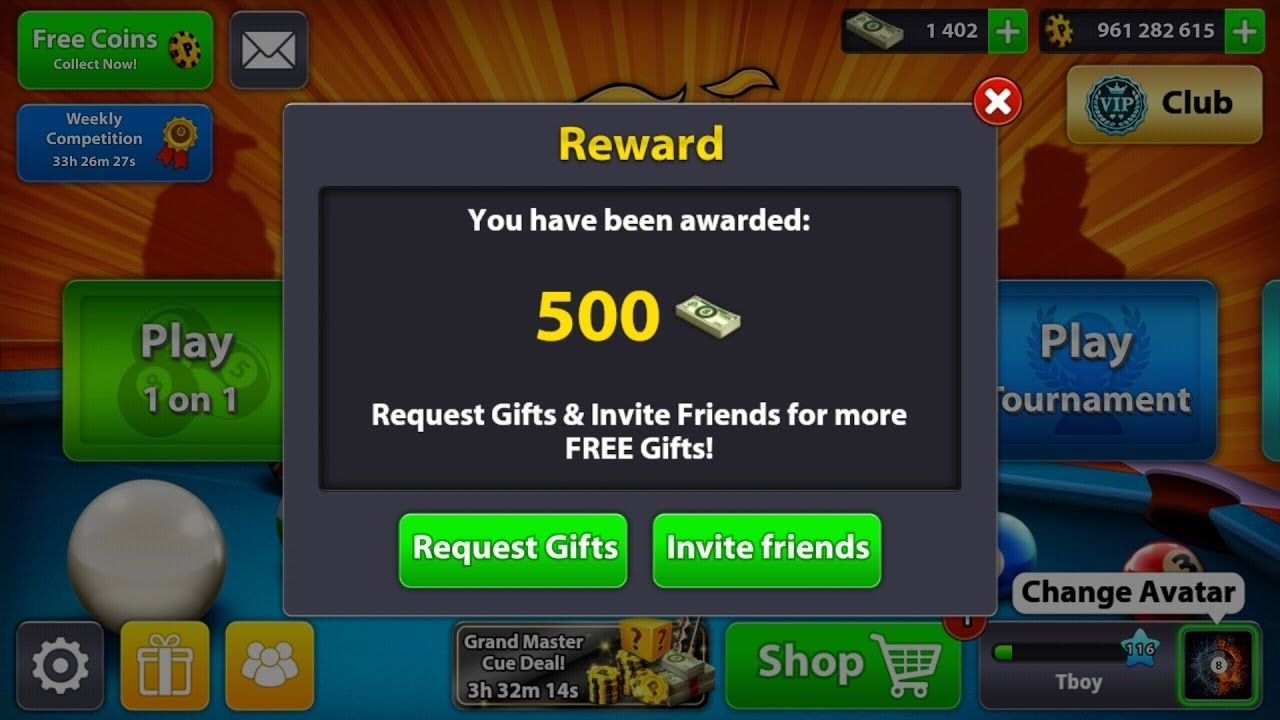 Cash Pool Liste 8 Ball Pool Rewards Links 2017 Cash And Coins Hot Rewards No Hack No Root