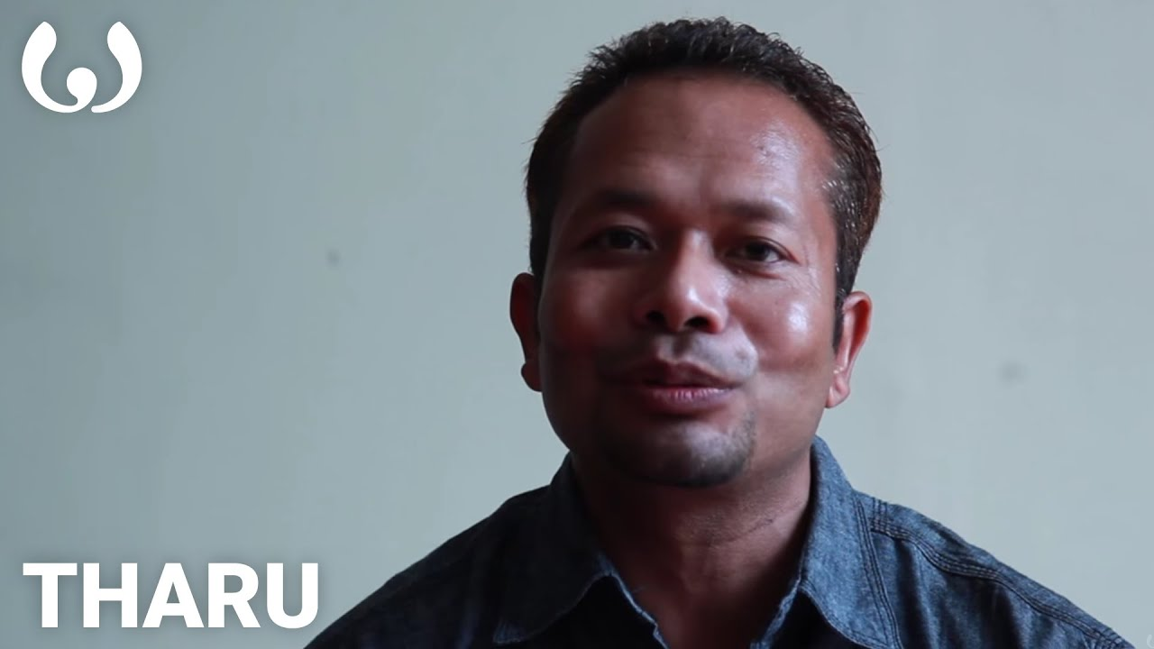wikitongues: sanjib speaking tharu - youtube