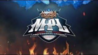 MPL - Week 2, PK Vs Stid JR - Mobile Legends Indonesia
