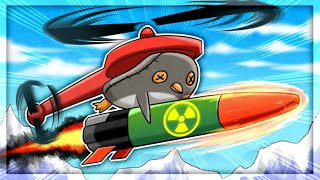 NUCLEAR MISSILES Make Everything BETTER in Learn to Fly 2