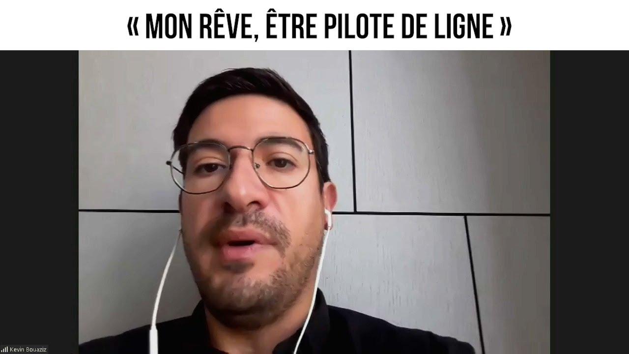 « Mon rêve, être pilote de ligne »
