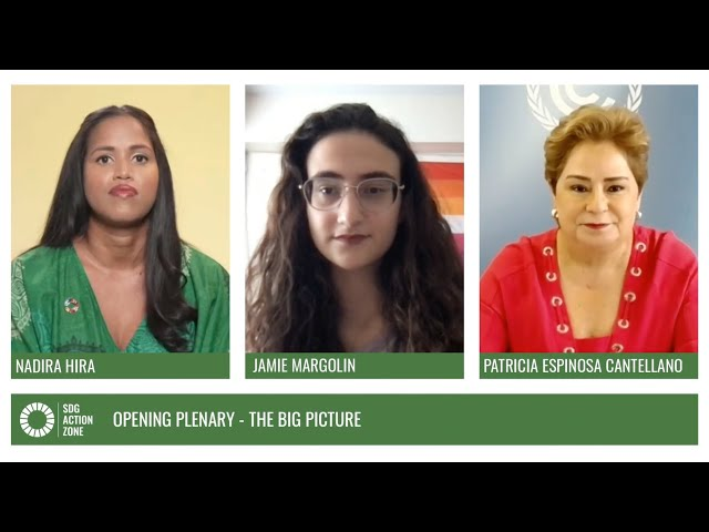 Opening Plenary – The Big Picture