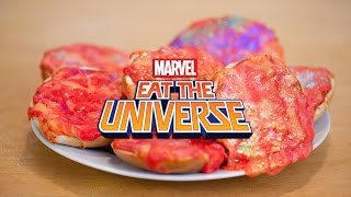 Dazzler's Glittering Pizza Bagels | Eat the Universe