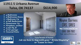 Wind River Crossing 4 bedroom 4 bath 3 car garage house for sale in Tulsa