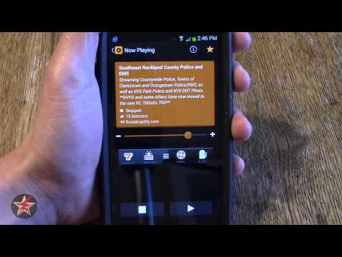 Android App Review: Scanner Radio Free