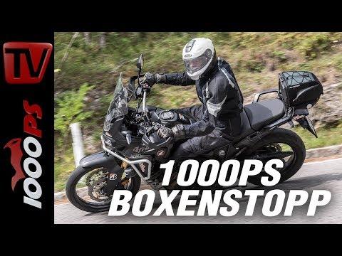 1000PS Test  - 100.000 km Dauertest - Honda CRF1000L Africatwin - mit Varahannes - ENG SUBS
