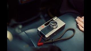 a film diary #3 : Retrieving film leader, Leica Minilux and strap, JCH Street Pan