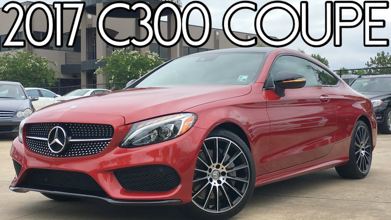 2017 mercedes benz c300 coupe full review start up for Mercedes benz c300 exhaust