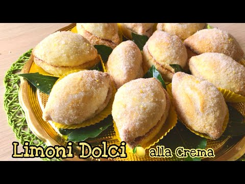 LIMONI DOLCI alla Crema Sweet Lemon - Tutti a tavola