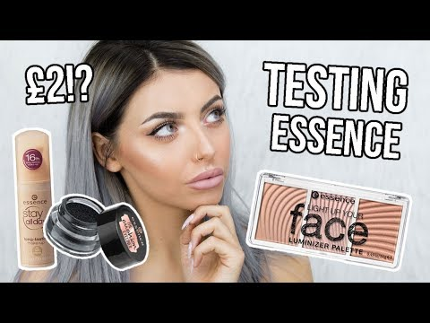 TESTING ESSENCE MAKEUP / FULL FACE FIRST IMPRESSIONS