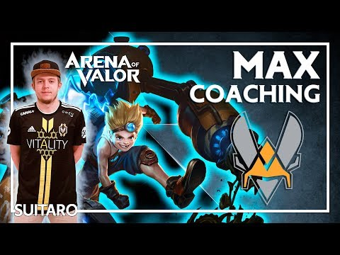 🐝 COACHING VITALITY - MAX sur Arena of Valor
