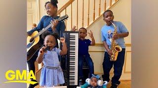 This family's coronavirus homeschool spirit week is #familygoals