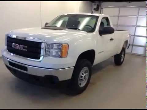 2014 GMC Sierra 2500HD 4WD Regular Cab Long Box Work Truck ...