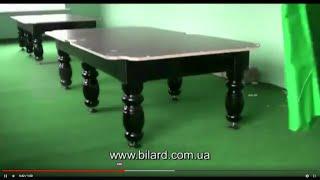 видео Купить бильярдный стол Модерн Люкс 2 8 футов фабрики Старт