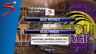 Week 3: KZN Duzi Royals 49-72 Egoli Magic