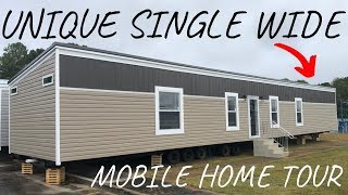Single Wide Mobile Home with a UNIQUE LAYOUT! 3 bed 2 bath by Hamilton Homebuilders Mobile Home Tour
