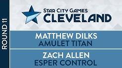 SCGCLE: Round 11 - Matthew Dilks vs Zach Allen [Modern]