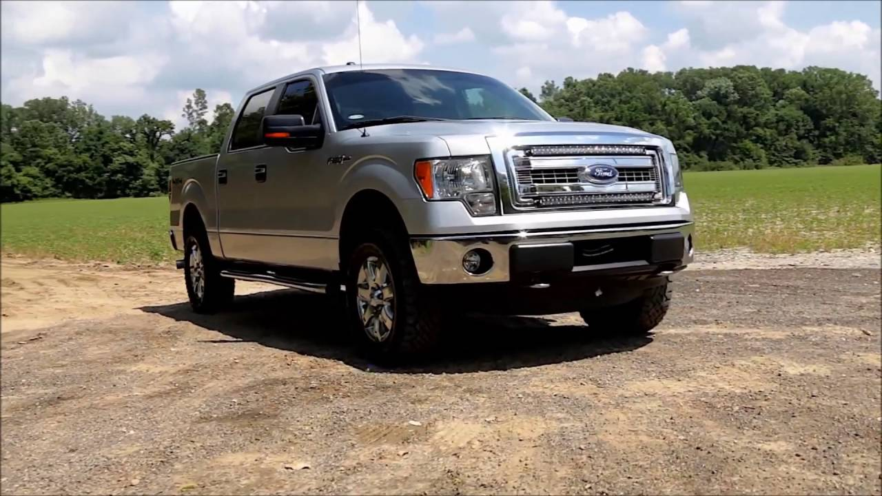 Rough Country Ford F 150 30 Quot Curved Led Light Bar Grille