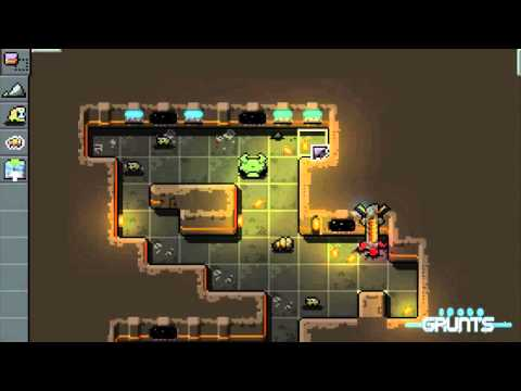 Space Grunts: In-game Level Editor (early Version) - YouTube