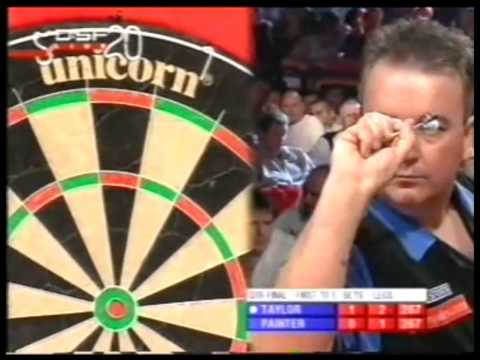 Phil Taylor vs. Kevin Painter - 2005 PDC World Championship (Part 1 of 2)