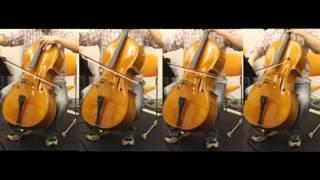 FF5のはるかなる故郷をチェロ四重奏で演奏してみた