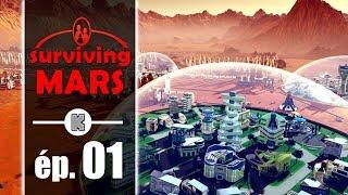 [FR PC] Surviving Mars Gameplay ép 1 – Construire une colonie martienne (let