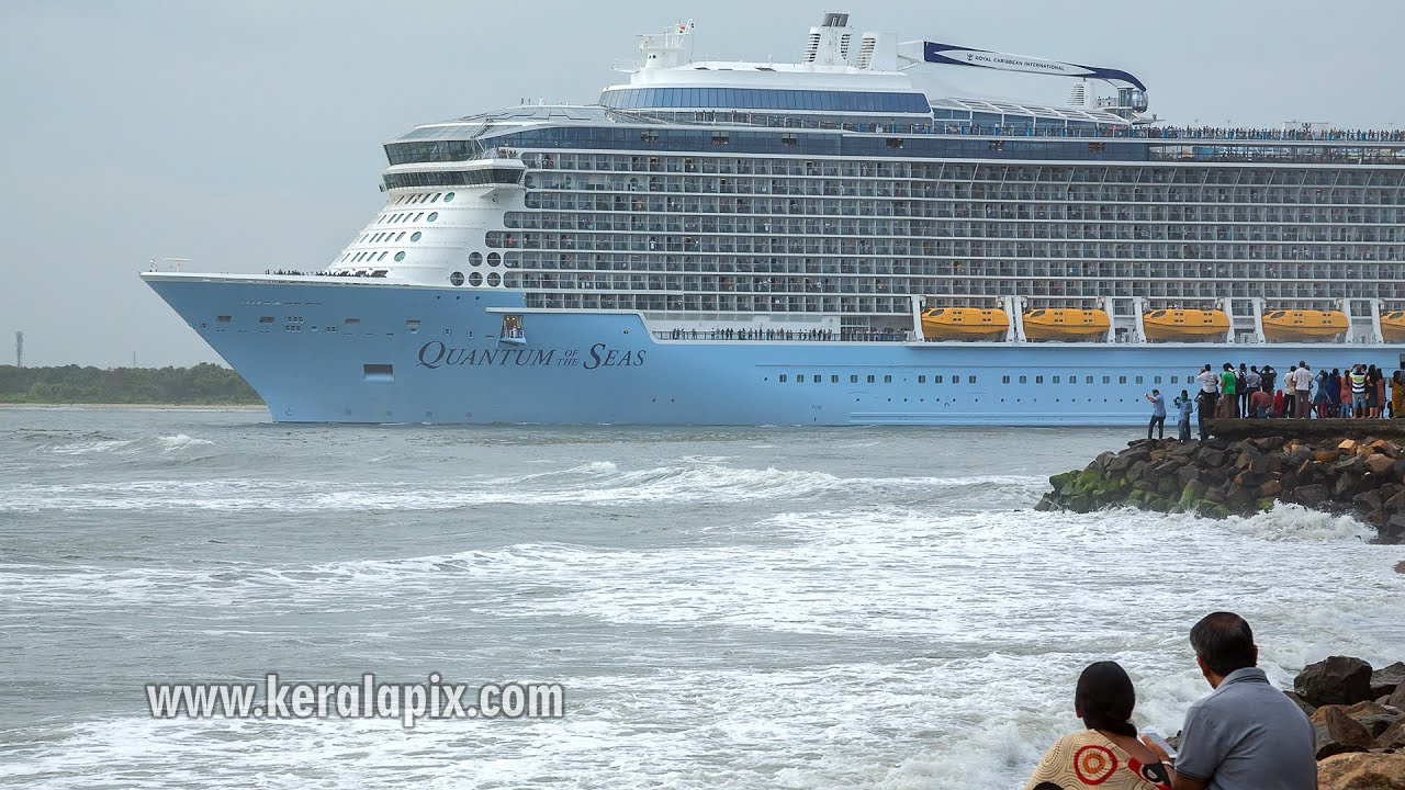 Wp6a0292 Quantum Of The Seas Sailing From Kochi Port