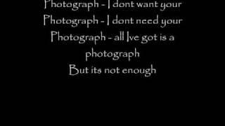 Def Leppard- Photograph lyrics