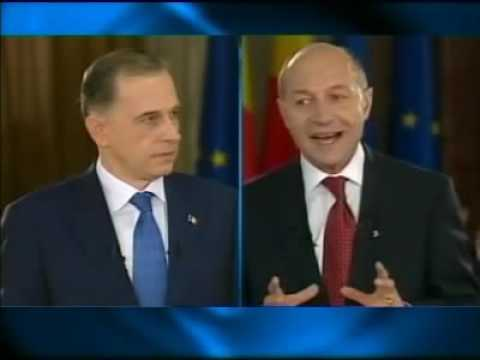 Dezbaterea prezidentiala 2009 Basescu vs Geoana - despre vizita la Vantu