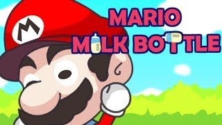 MARIO MILK BOTTLE Level1-8 Walkthrough