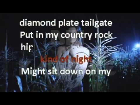 Luke Bryan - My Kind Of Night (Karaoke Video)