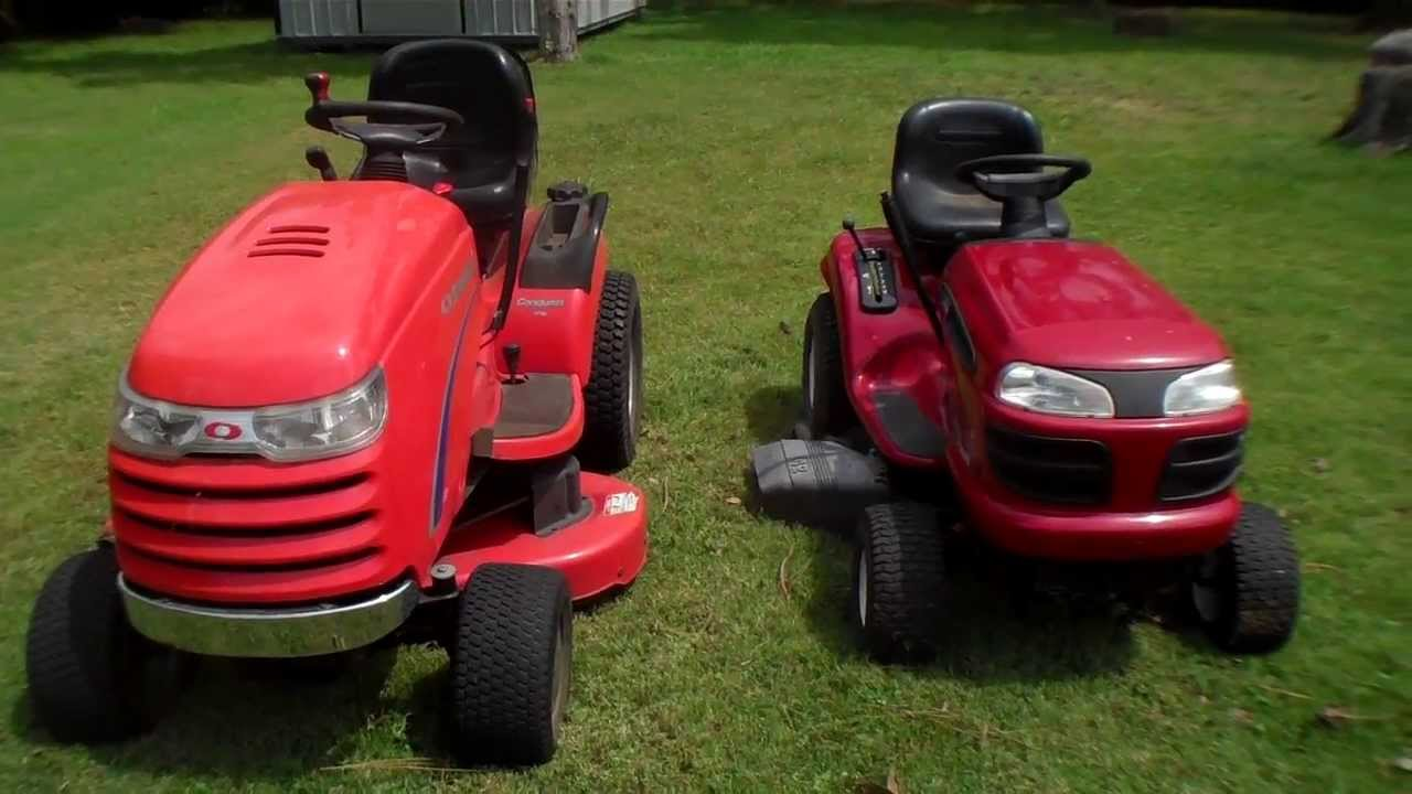 Simplicity Vs Basic Riding Mower