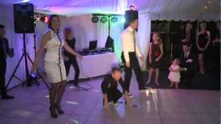 Funny. GANGNAM STYLE: Baby, Kids and Family dance . Toni's wedding.www.http://paramount.com.au