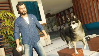 GTA 5 Real Life Mod #22 - Animal Pet Shop, Buying a Dog & NEW HOUSE!! (GTA 5 Mods Gameplay)
