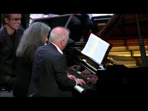 Argerich, Barenboim - Schubert - Rondo in A major, D 951