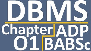 Dbms Complete Chapter No 1