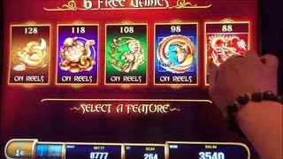 ★SUPER BIG WIN☆5 TREASURES Slot machine (SG)★Turtle/Tiger/FireBird/Dragon picked Bonuses $2.64 Bet★栗