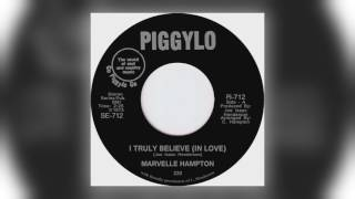 Download 01 Marvelle Hampton - I Truly Believe (In Love) [Tramp Records] MP3 song and Music Video