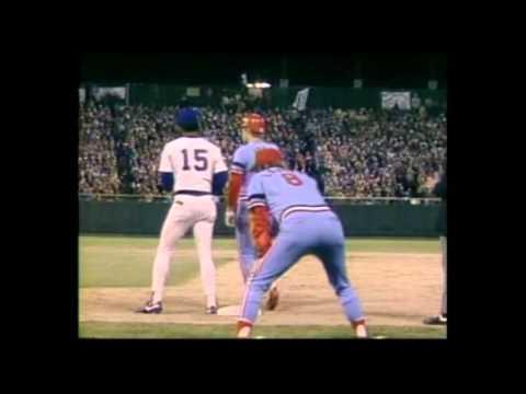 MLB 1982 World Series Highligths